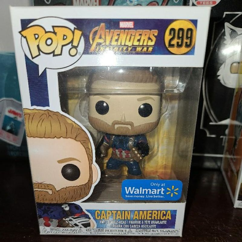 Captain America (Infinity War) (Action Pose)