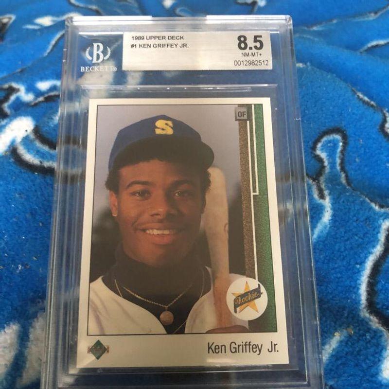 Ken Griffey Jr. - 1989 Upper Deck Baseball