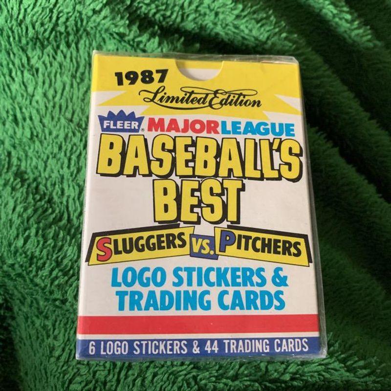 1987 Fleer Baseball Best Slugger vs. Pitchers