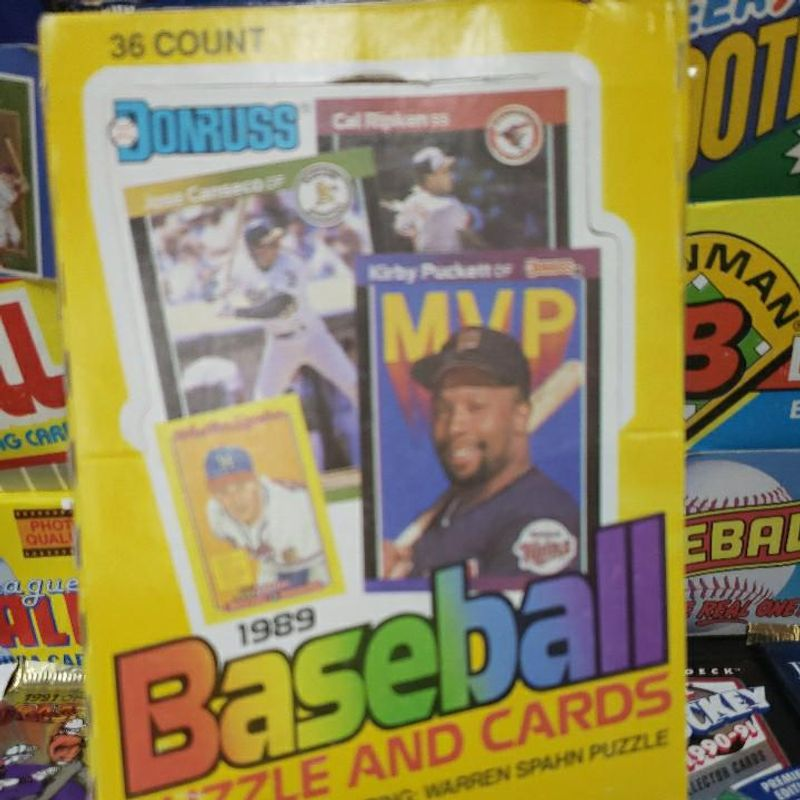 1989 Donruss Baseball Wax Box
