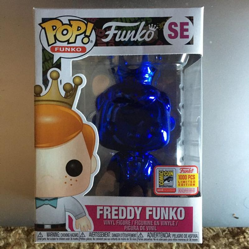 Freddy Funko (Blue Chrome)