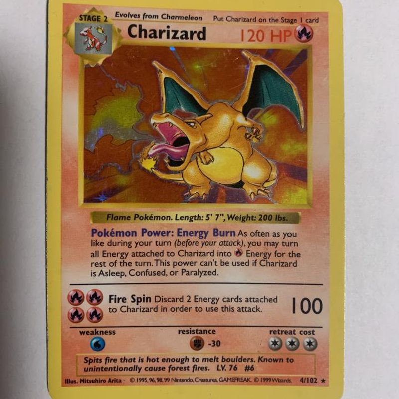 Charizard (Shadowless) - Base