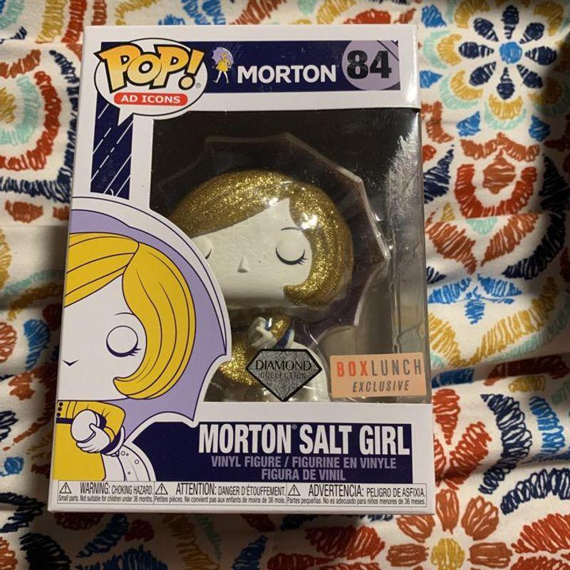 Morton Salt Girl (Diamond Glitter)