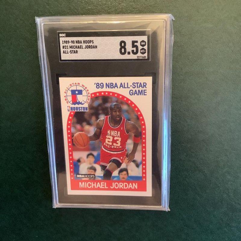 Michael Jordan (All-Star) - 1989 Hoops