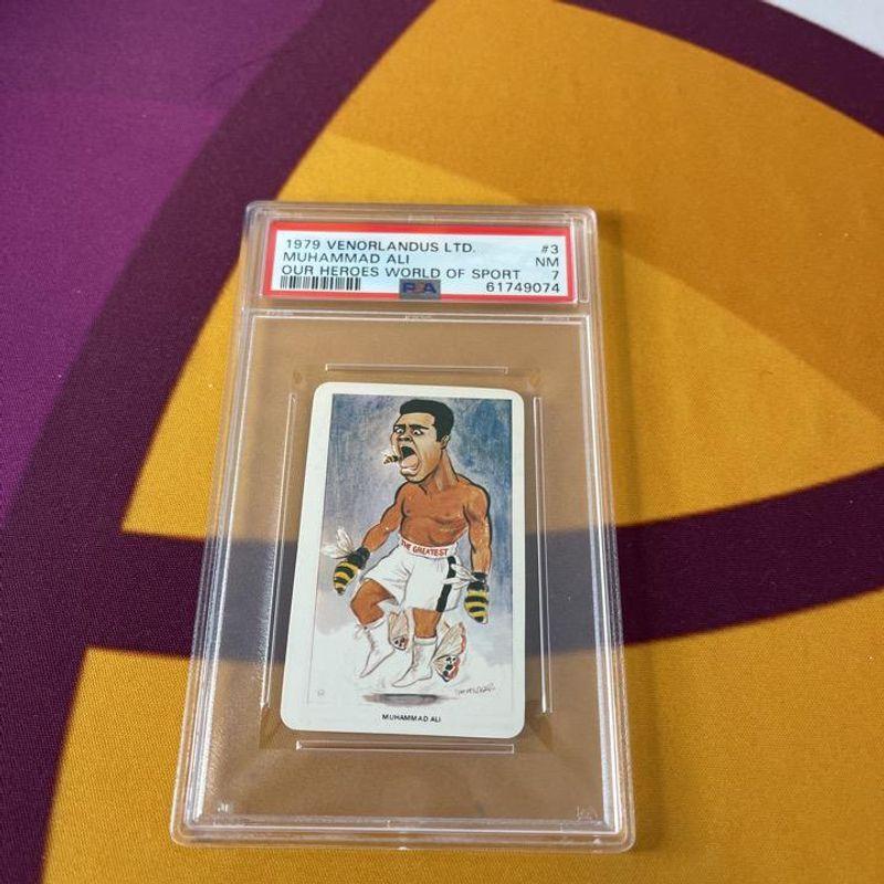 Muhammad Ali - 1979 Venorlandus Ltd. (Our Heroes World of Sport)