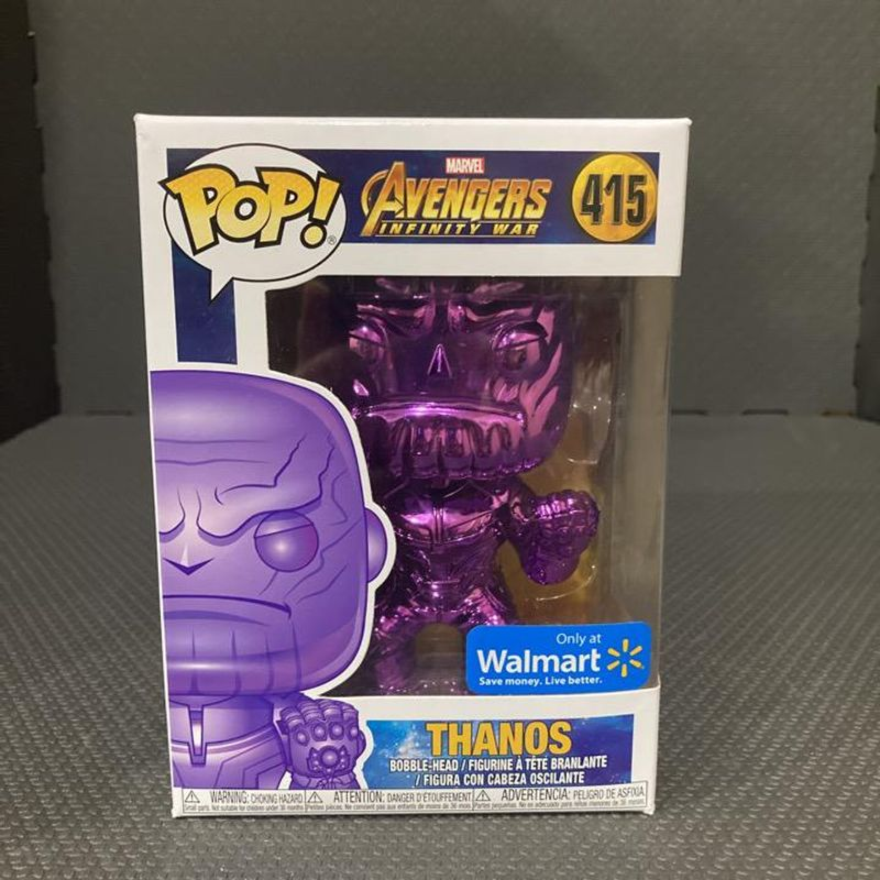 Thanos (Closed Fist) (Purple Chrome)
