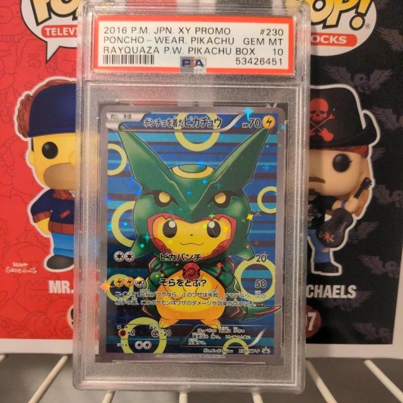 Pikachu Wearing Rayquaza Poncho - Pikachu Special Box
