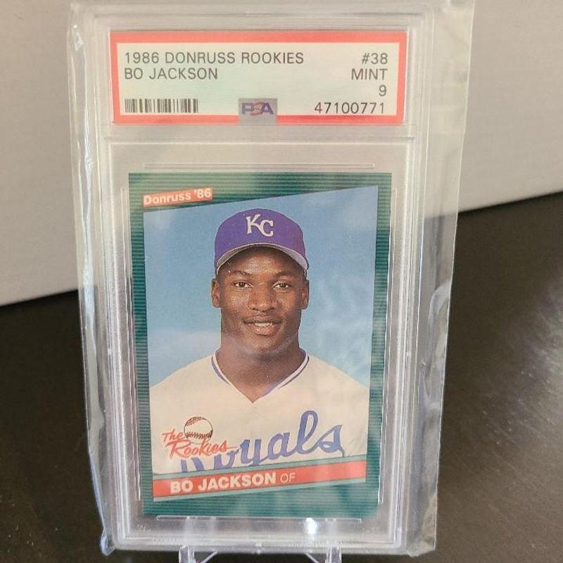 Bo Jackson - 1986 Donruss Rookies