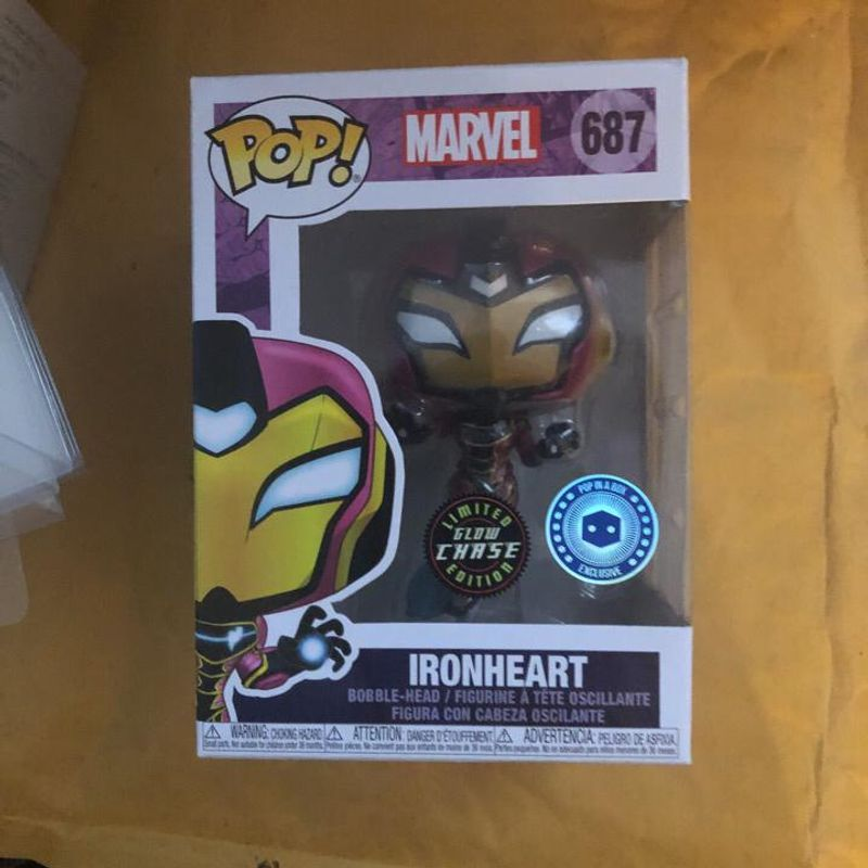 Ironheart (Chase) (Glows in the Dark)