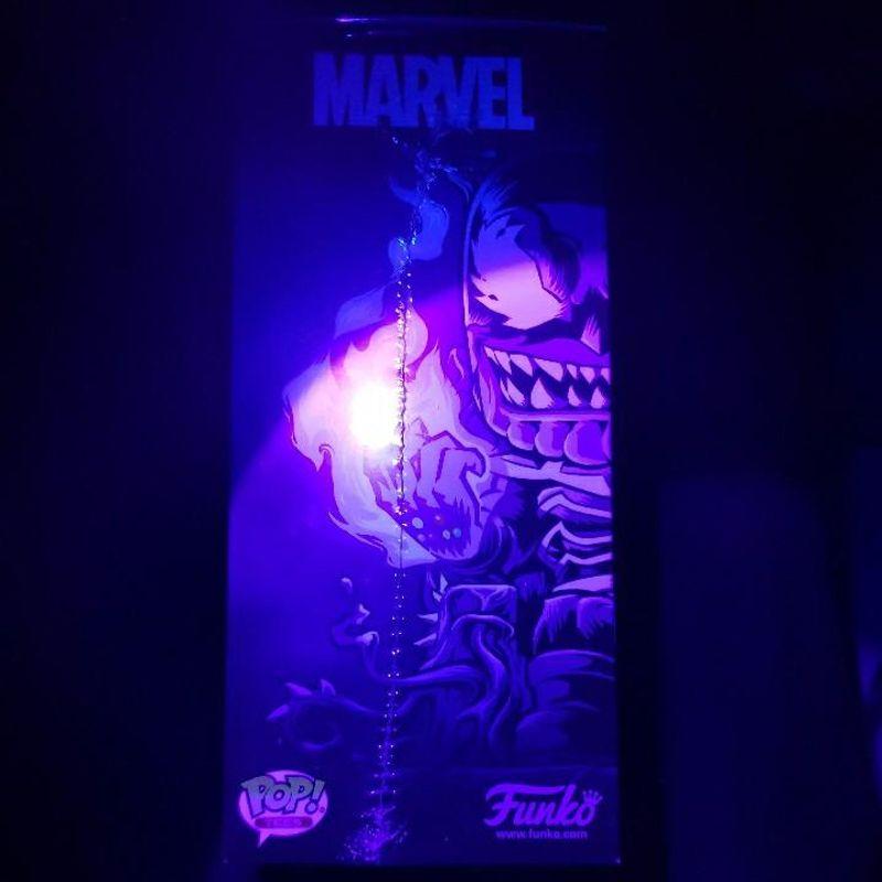 Venomized Thanos (Glow in the Dark) and Venomized Thanos Tee