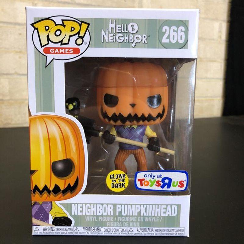 Neighbor Pumpkinhead (Glow in the Dark)