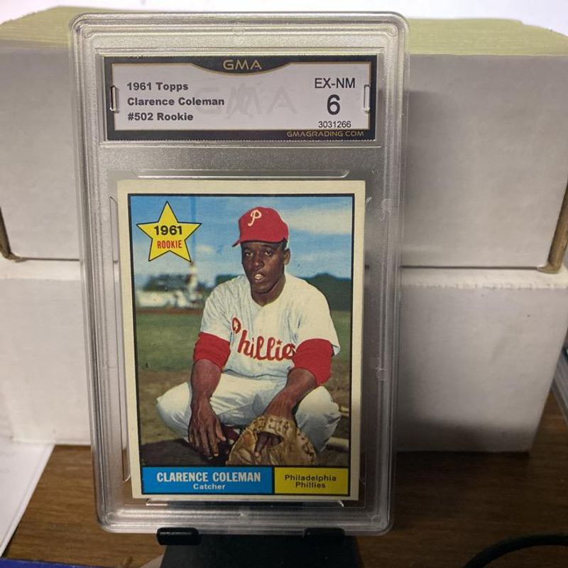 Clarence Coleman - 1961 Topps
