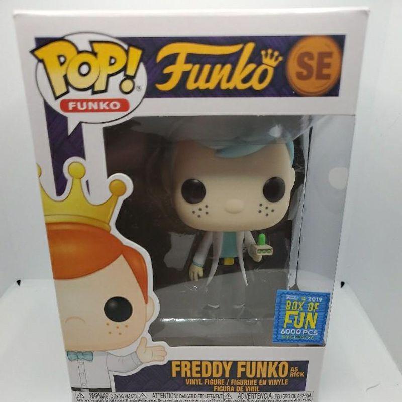 Freddy Funko as Rick