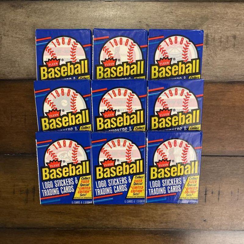 1988 Fleer Baseball Booster Pack