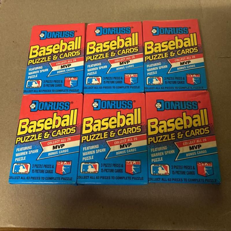 1989 Donruss Baseball Puzzle & Cards Pack