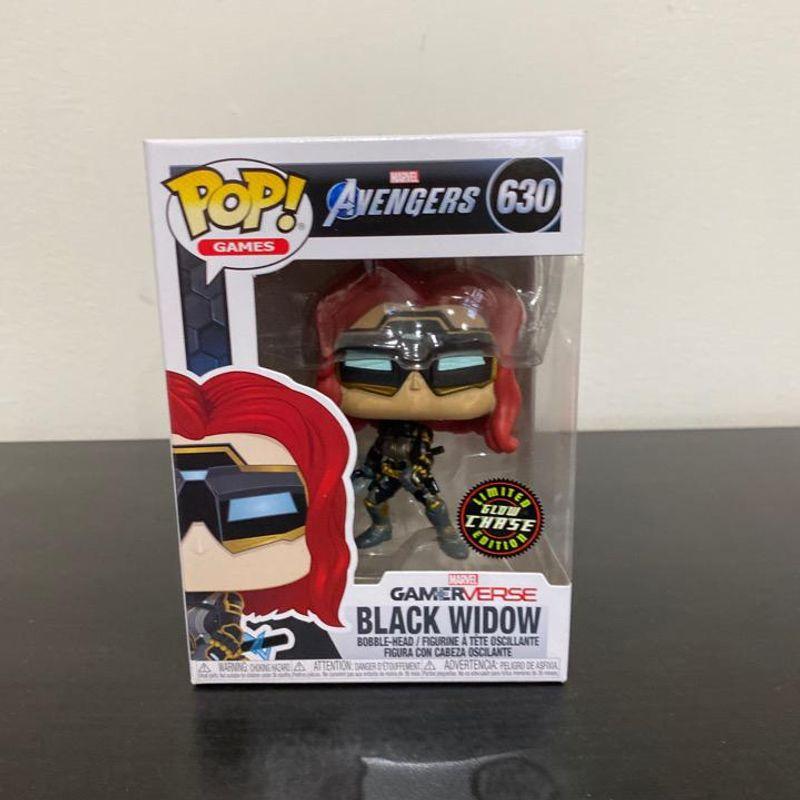 Black Widow (Chase) (Glows in the Dark)