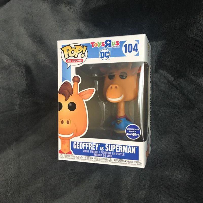 Geoffrey as Superman
