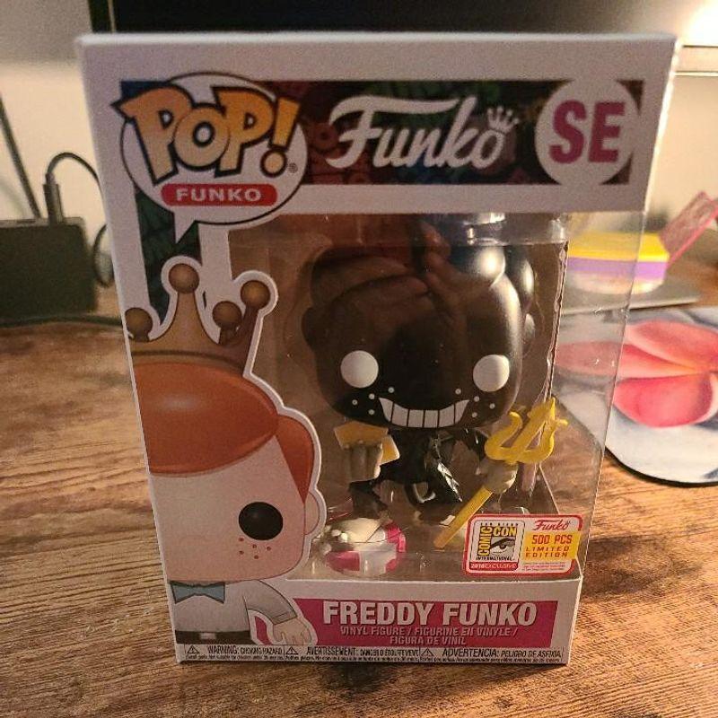 Freddy Funko (The Devil) (Black)