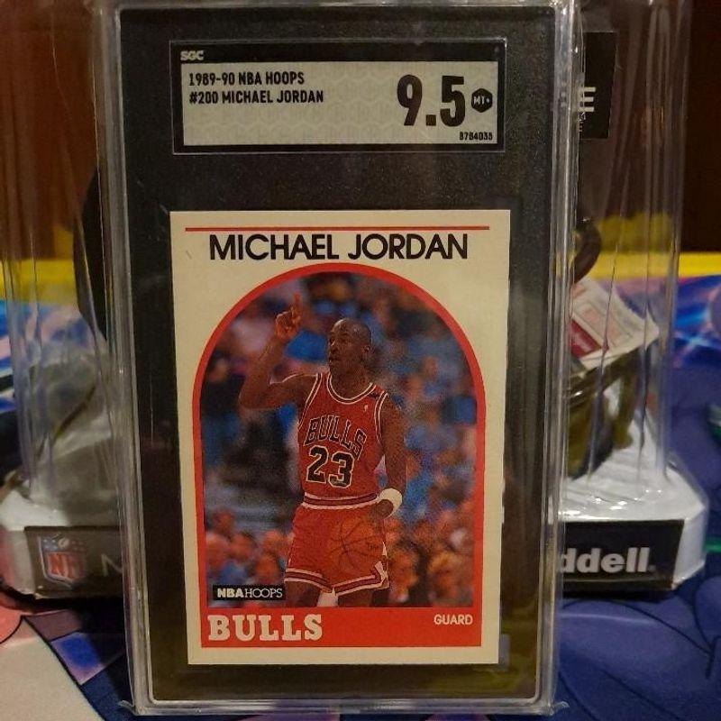 Michael Jordan - 1989 - Hoops