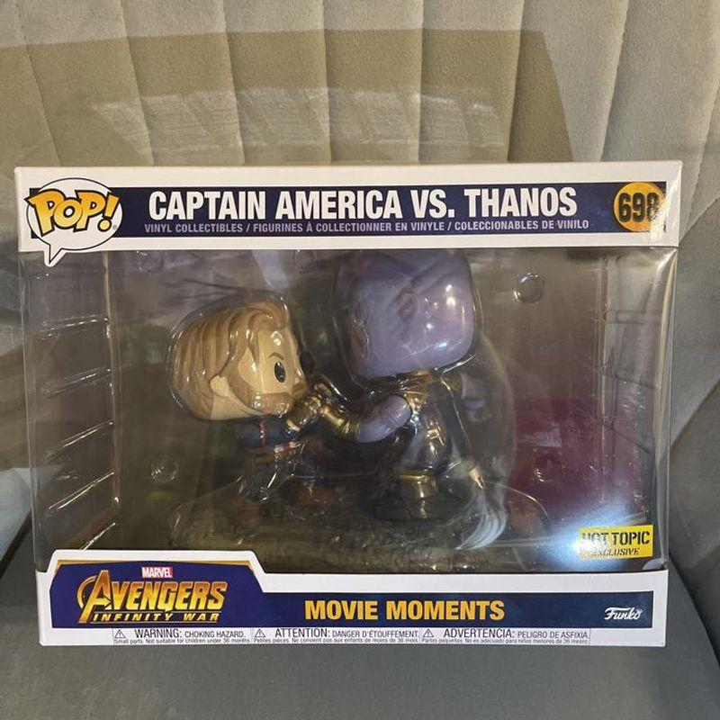 Captain America vs. Thanos