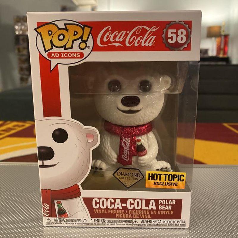 Coca-Cola Polar Bear (Diamond Glitter)