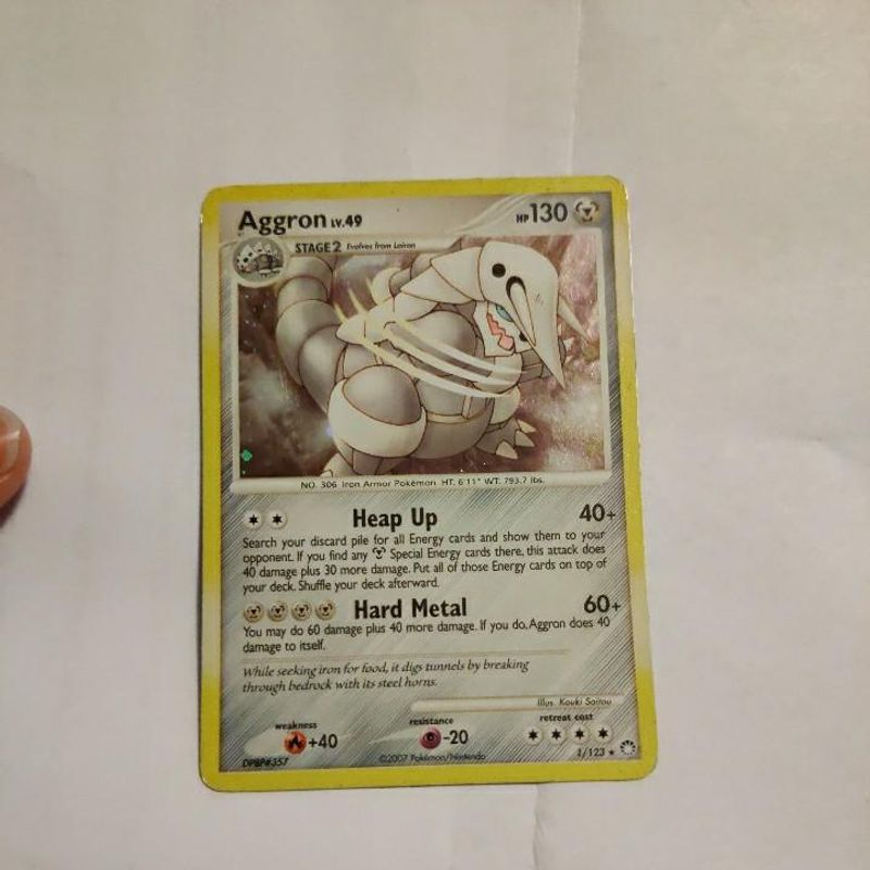 Aggron - Mysterious Treasures