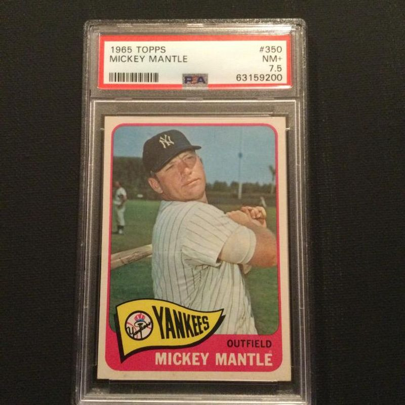 Mickey Mantle - 1965 Topps