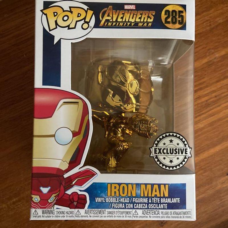 Iron Man (Infinity War) (Chrome Gold)