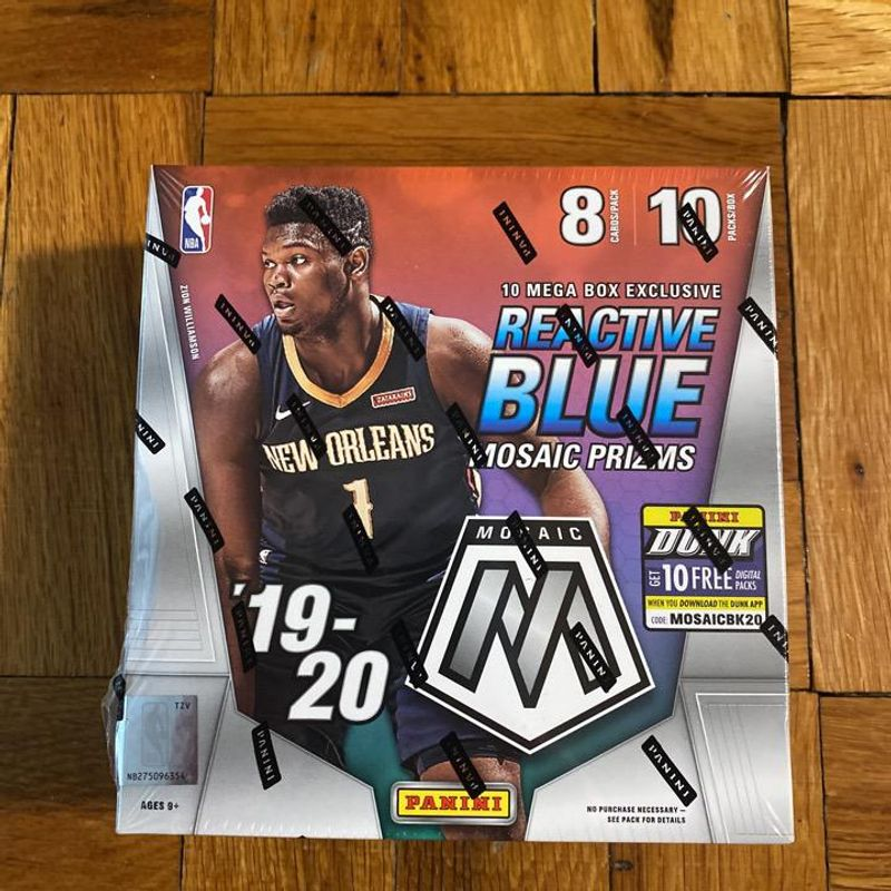 2019-20 Panini Mosaic Basketball Mega Box