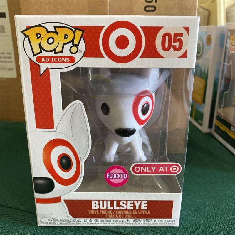Bullseye (Flocked) (Red Collar)