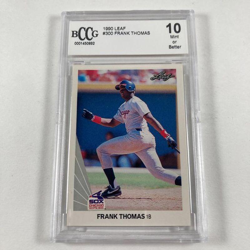 Frank Thomas - 1990 Leaf Baseball