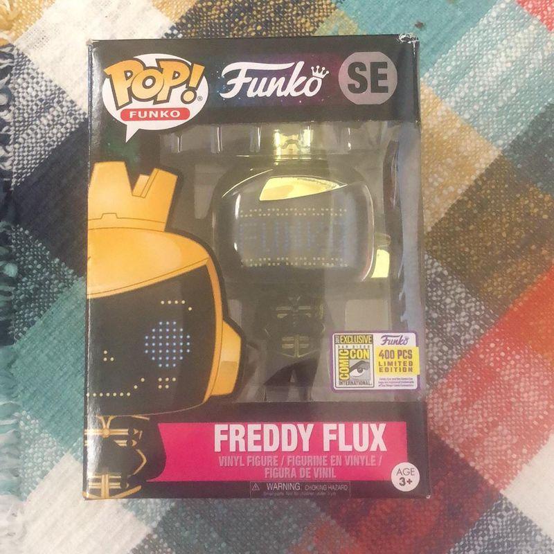 Freddy Flux (Quantum - Logo)