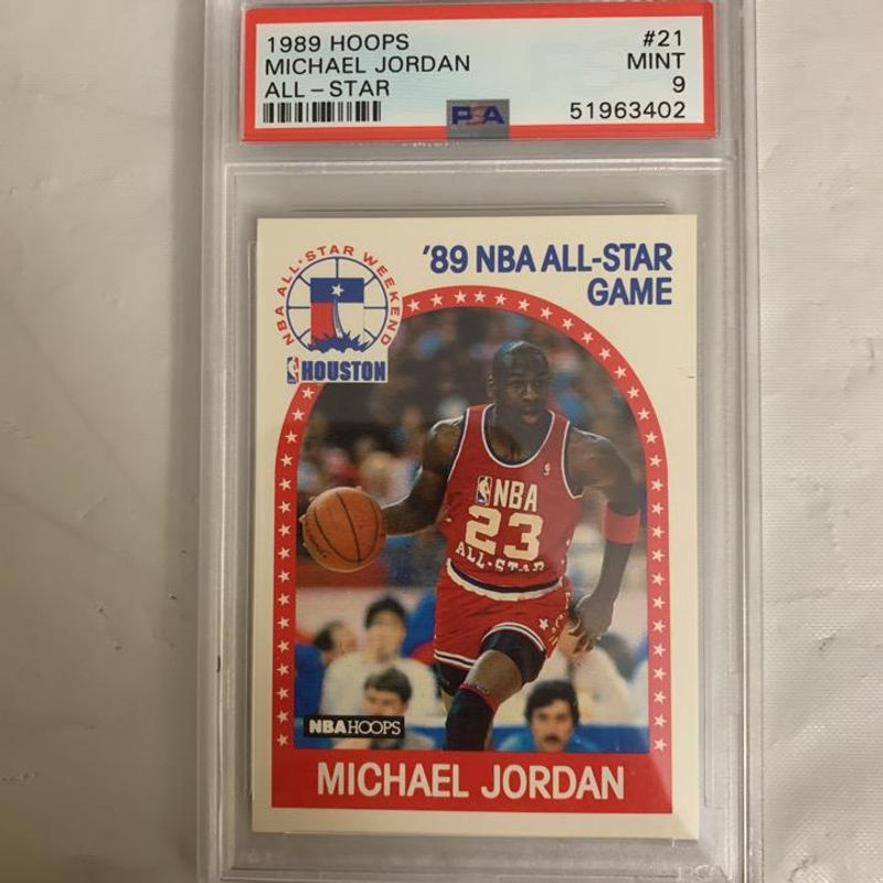Michael Jordan (All-Star) - 1989 Hoops