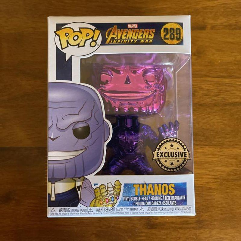 Thanos (Infinity War) (Purple Chrome)