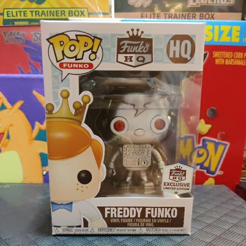 Robot Freddy Funko (Silver)