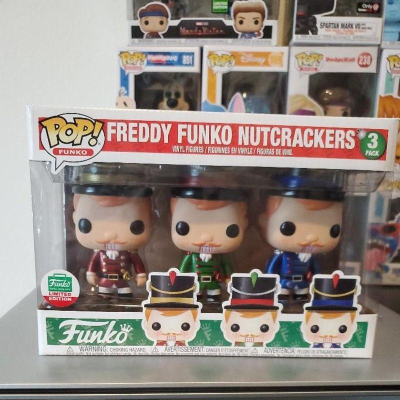 Freddy Funko Nutcrackers (3-Pack)