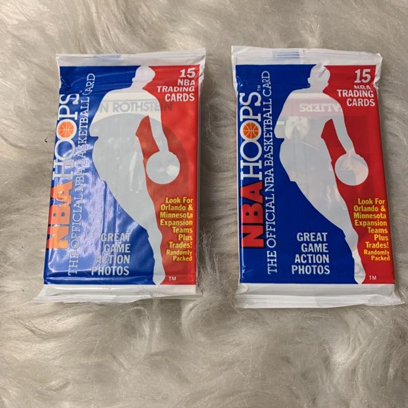 1989-90 Hoops Basketball Pack