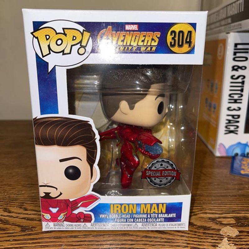 Iron Man (Infinity War) (Unmasked)