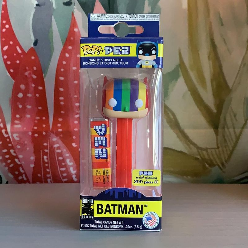 Batman (Rainbow) (Pez Dispenser)