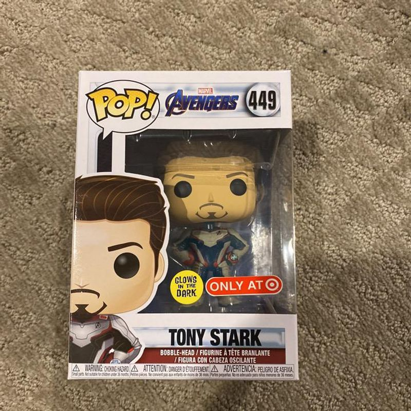 Tony Stark (Quantum Realm Suit) (Glow In The Dark)