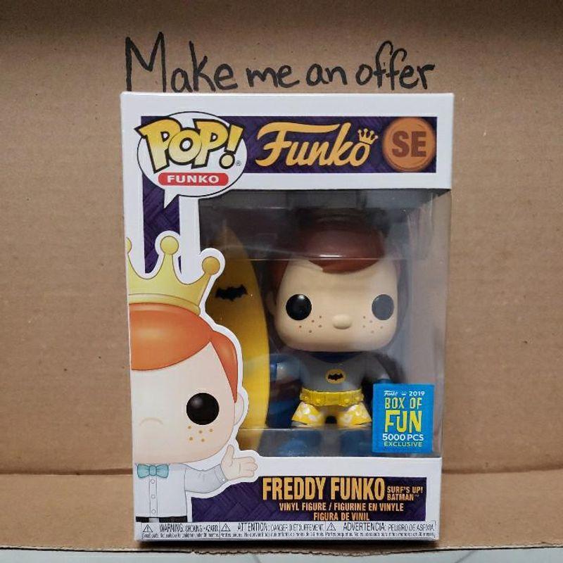 Freddy Funko Surf's Up! Batman