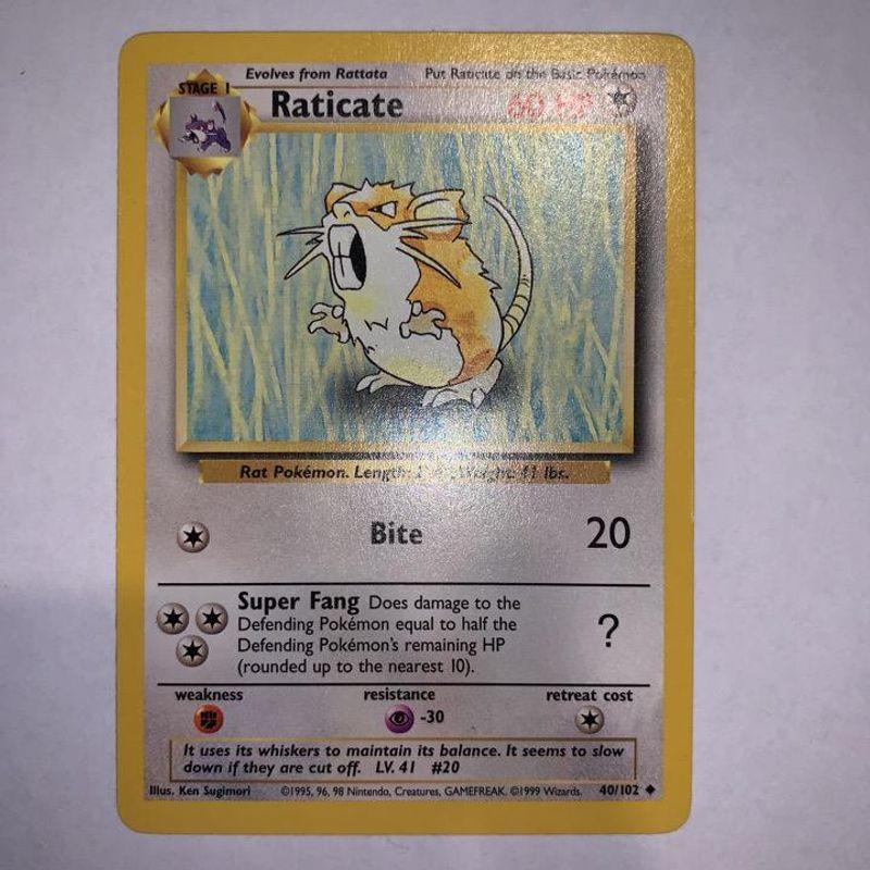 Raticate - Base
