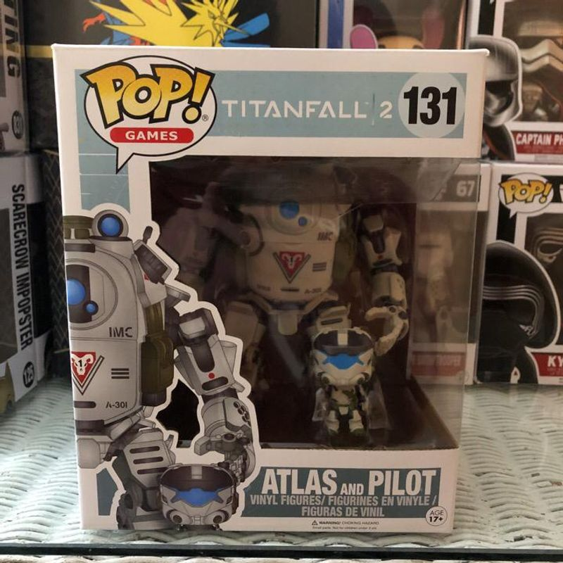 Atlas with Pilot