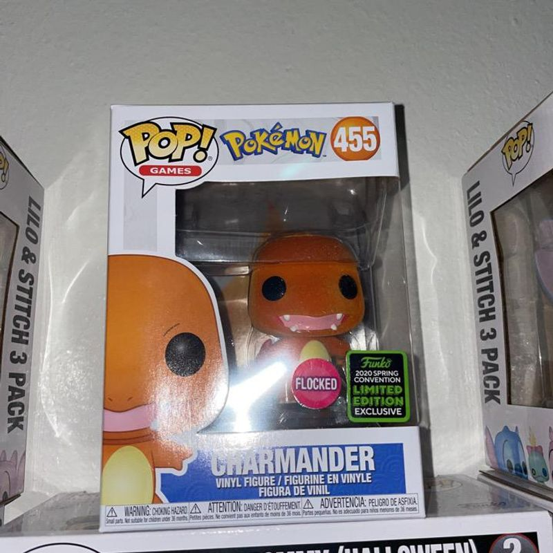 Charmander (Flocked) [Spring Convention]