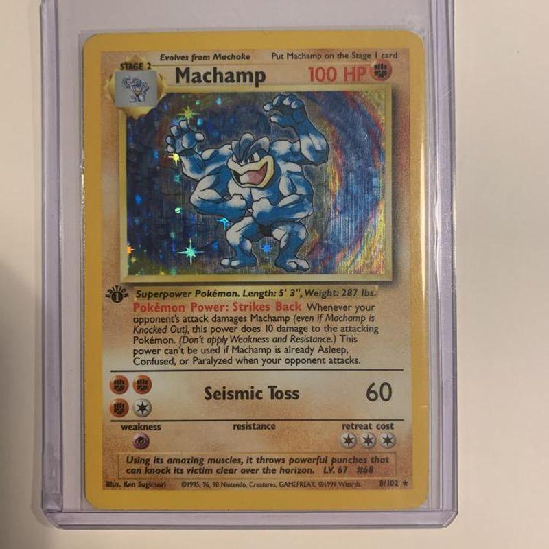 Machamp (Base Set - 1st Edition)