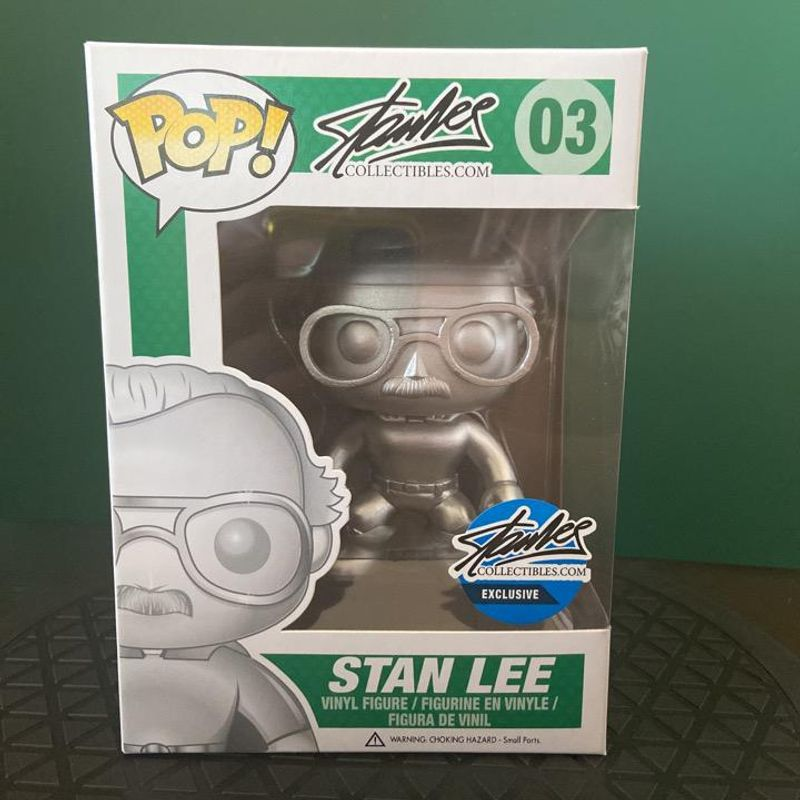 Stan Lee (Superhero) (Platinum)