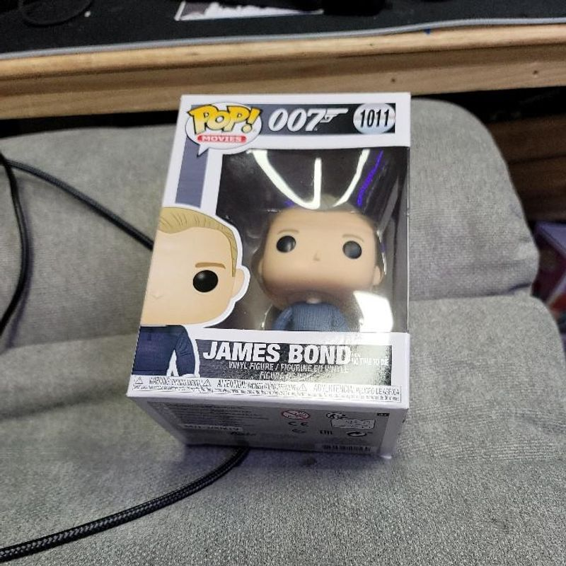 James Bond from No Time to Die