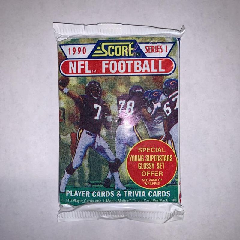1990 Score NFL Football Series 1 Pack