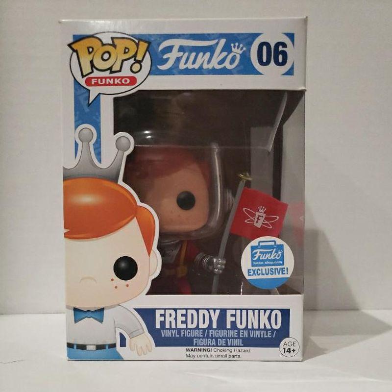 Freddy Funko (Astronaut) (w/ Flag)
