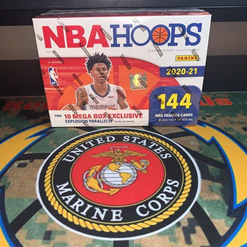2020-21 Panini NBA Hoops Basketball Mega Box
